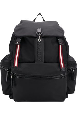 Bally Logo charm backpack
