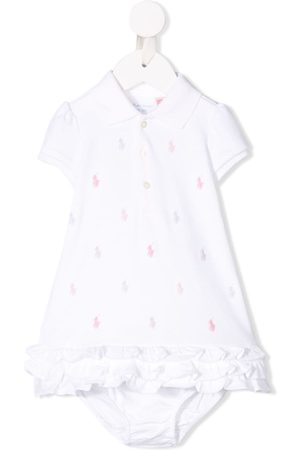 Ralph Lauren Kids Embroidered logo polo dress