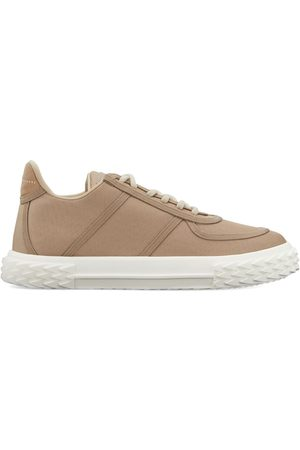 Giuseppe Zanotti Lace-up low top trainers - Neutrals
