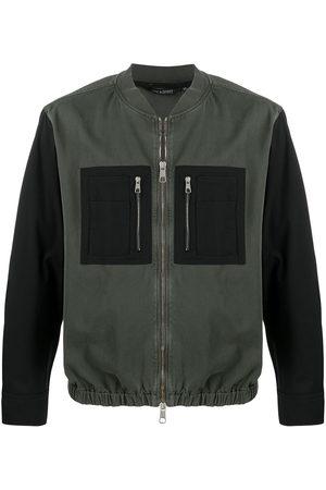 Neil Barrett Contrast pocket bomber jacket