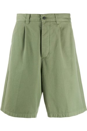 Ami Pleated Bermuda Shorts