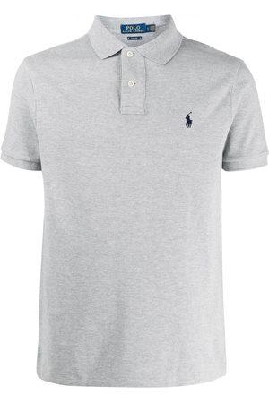 Polo Ralph Lauren Short sleeve embroidered logo polo shirt - Grey