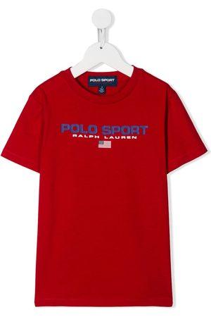 Ralph Lauren Kids Polo sport logo T-shirt