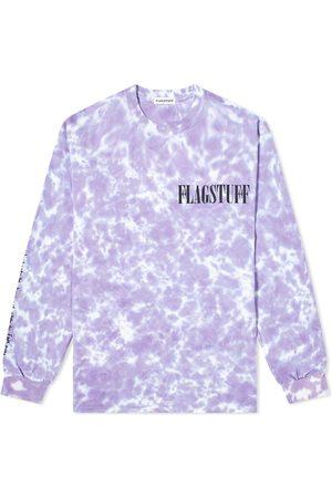 Flagstuff Tie Dye Fade Away Long Sleeve Tee