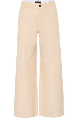 Stouls Lilou cropped leather pants