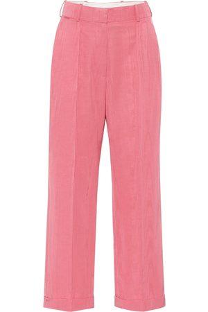 Racil Charlie cotton-blend wide-leg pants