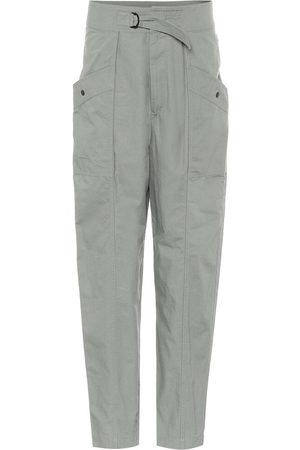 Isabel Marant, Étoile Zilyae high-rise cotton pants