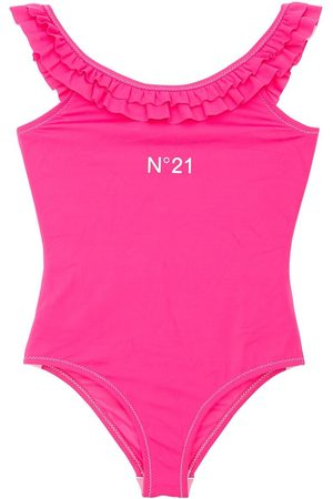 Nº21 Ruffled One Piece Swimsuit