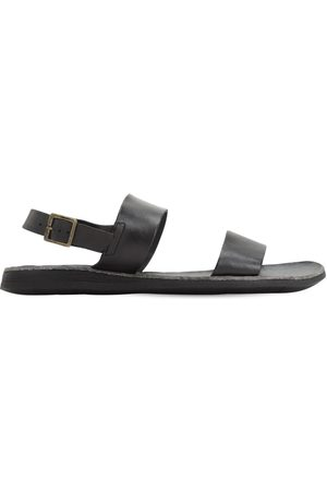 BRADOR Leather Sandals W/ Buckle