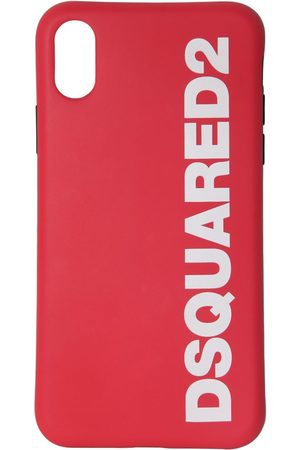 Dsquared2 Logo Print Rubber Iphone X/xs Cover