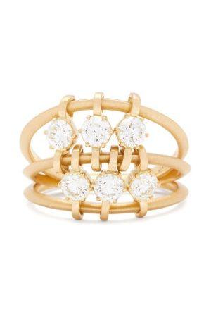 Jade Trau Penelope Diamond & 18kt Ring - Womens