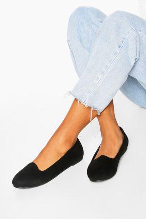 Boohoo Womens Basic Slipper Ballets - - 5