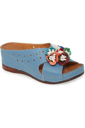 SHERIDAN MIA Women's Kiras Wedge Slide Sandal