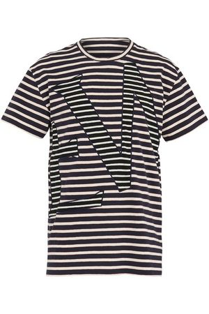 Loewe Men Short Sleeve - Striped t-shirt