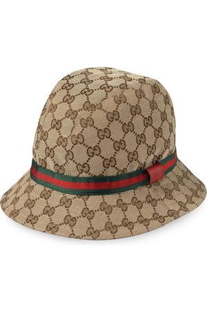 Gucci Boys Hats - GG logo fedora hat - NEUTRALS