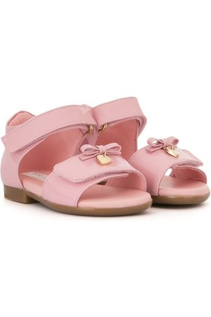 Dolce & Gabbana T-strap bow sandals