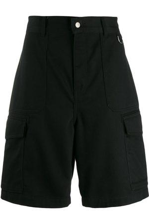Ami Men Patch Pockets Bermuda Shorts