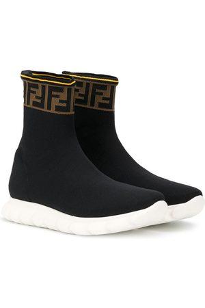 Fendi TEEN FF slip-on sneakers