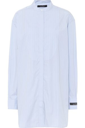 Rokh Pinstriped cotton shirt