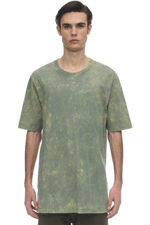 FAITH CONNEXION Over Bleach Cotton Jersey T-shirt