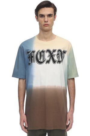 FAITH CONNEXION Over Deep Dye Cotton Jersey T-shirt