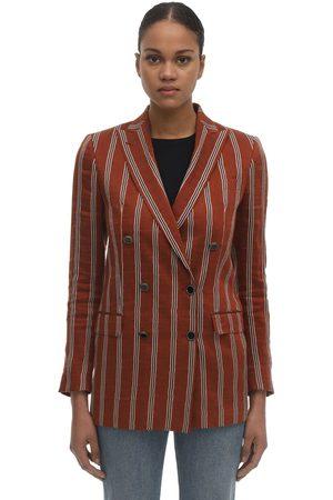 Tagliatore 0205 Women Blazers - Jasmine Pinstriped Jacket