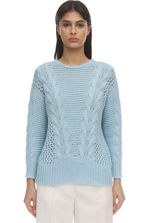 Agnona Women Sweaters - Cashmere Knit Sweater