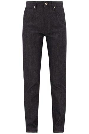 Jil Sander High-rise Straight-leg Jeans - Womens - Dark