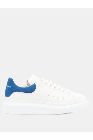 Alexander McQueen Men Sneakers - Raised-sole Leather Trainers - Mens - Multi