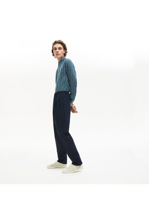 Lacoste Men's Pleat-front Twill Chinos :