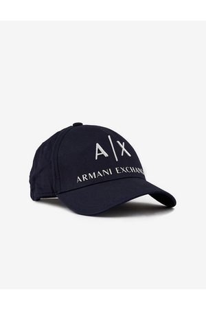 Armani Hat Navy Cotton, Bovine