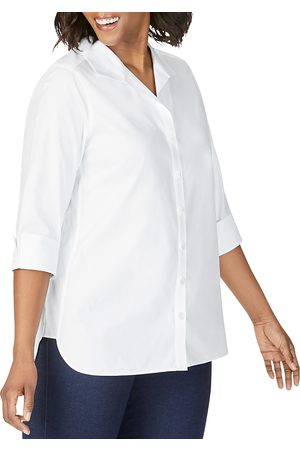 Foxcroft Non-Iron Cotton Tunic Shirt