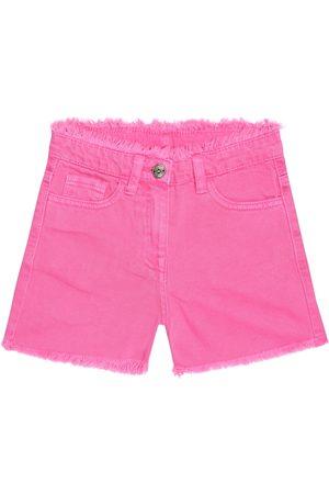 MONNALISA Embellished denim shorts
