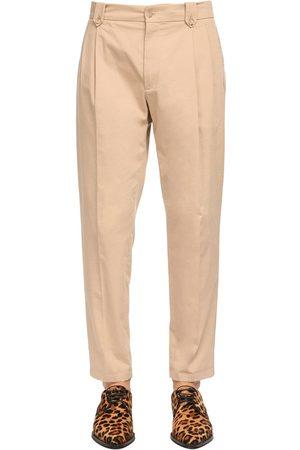 Dolce & Gabbana 17.5cm Stretch Cotton Pants