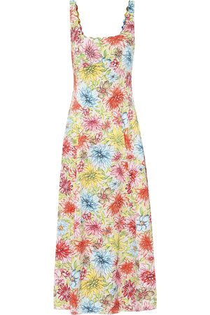 AlexaChung Kitty floral midi dress