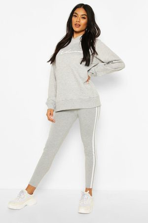 Boohoo Womens Woman Hoodie And Legging Tracksuit - - 2