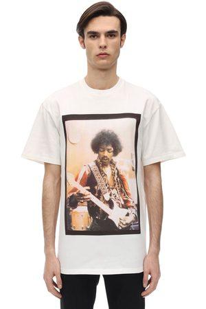 Ih Nom Uh Nit Hendrix Bowl Printed Cotton T-shirt