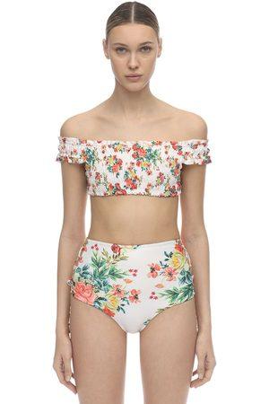 Agua Bendita Cecilia Stretch Bikini Top
