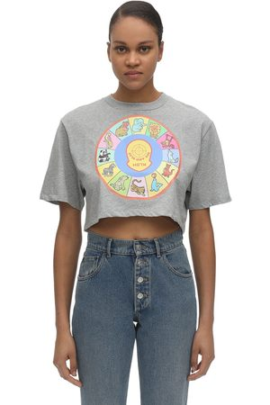 KLSH - KIDS LOVE STAIN HANDS See And Slay Printed Cotton T-shirt