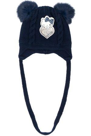 MONNALISA Kitty patch beanie