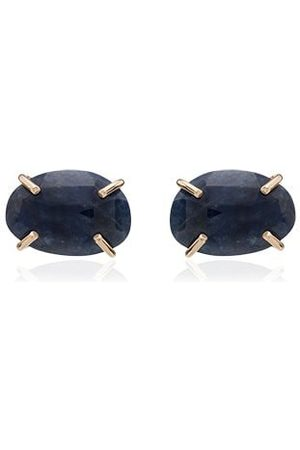 MELISSA JOY MANNING 14K sapphire stud earrings - /