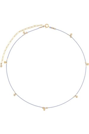Petite Grand Women Necklaces - Ball drop cord necklace