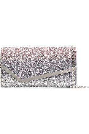 Jimmy Choo Women Shoulder Bags - Glitter detail Emmie cross body bag