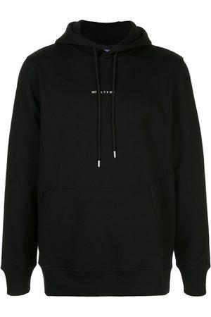 1017 ALYX 9SM Hoodies - Logo-print rib-trimmed hoodie