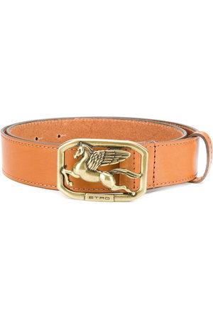 ETRO Women Belts - Pegaso buckle belt