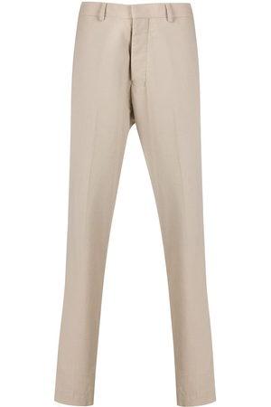 Ami Men Straight Leg Pants - Mid rise straight-leg trousers - Neutrals