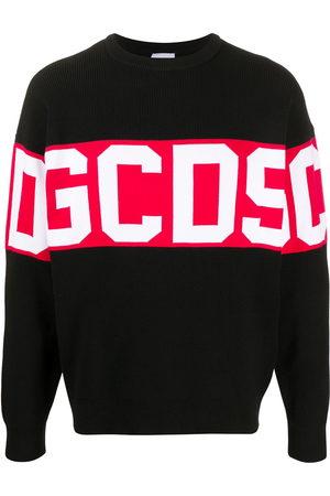 GCDS Colour block logo print sweatshirt