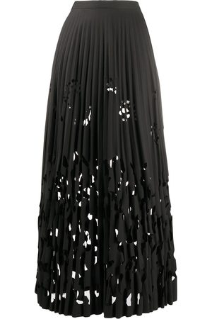 ROMEO GIGLI 1990s cut-out pleated skirt