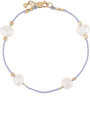 Petite Grand Women Bracelets - Freshwater pearl cord bracelet