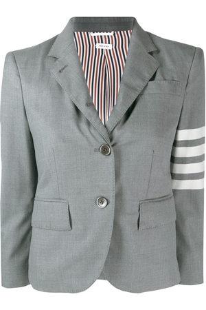 Thom Browne 4-Bar stripe blazer - Grey
